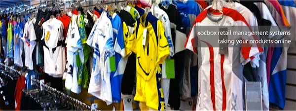 sports shirts in store