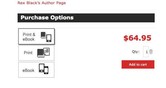 sell ebooks and print books online